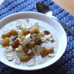brown rice cereal with almonds and raisins 1